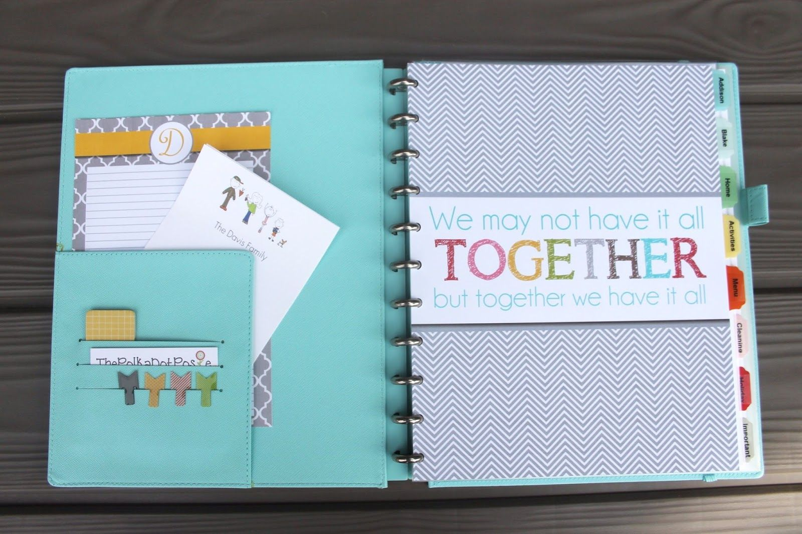The Polka Dot Posie How To Build Your Perfect Planner