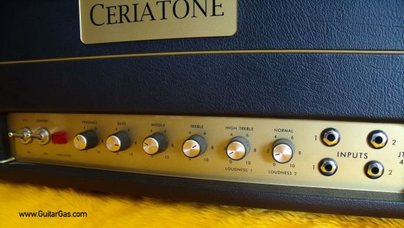 Ceriatone JTM45 Inputs and Controls