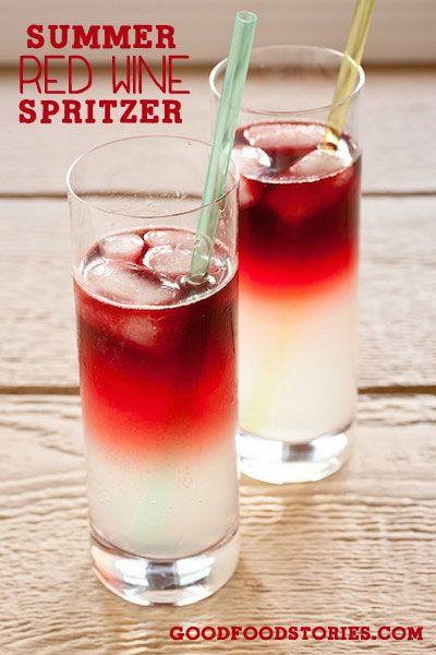 Red Wine Spritzer Recipe Red Wine Spritzer And Red Wines