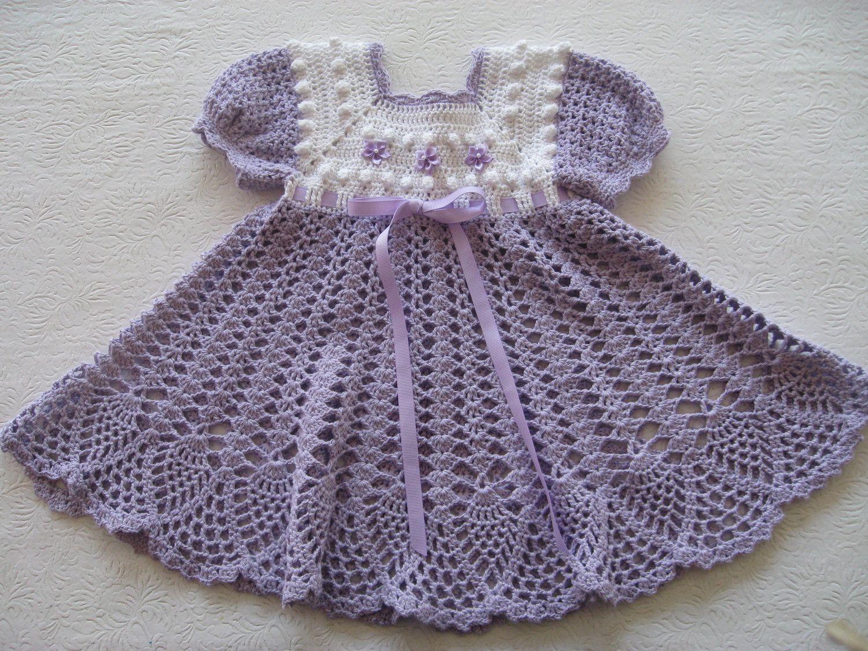 Crochet Babygirls Patterns Dresses