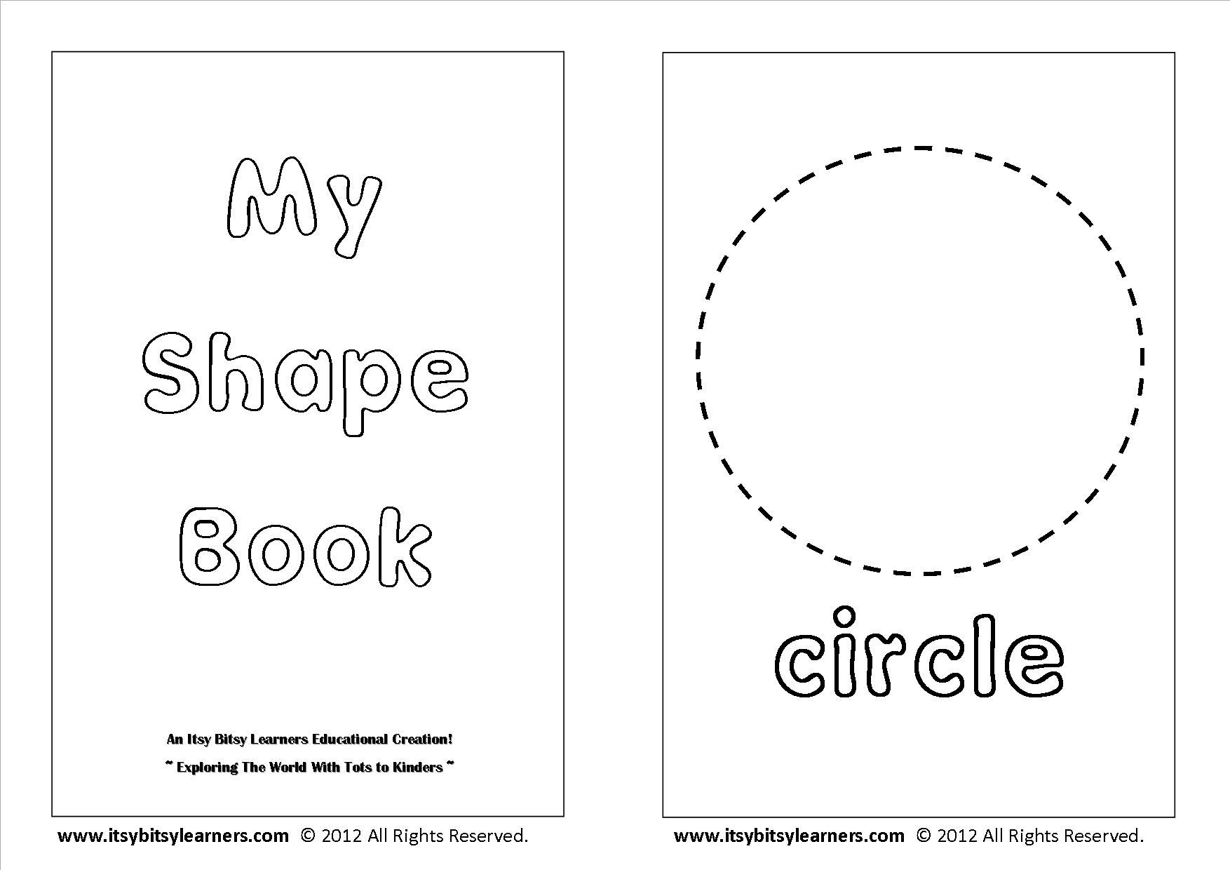 Free Shapes Coloring Book