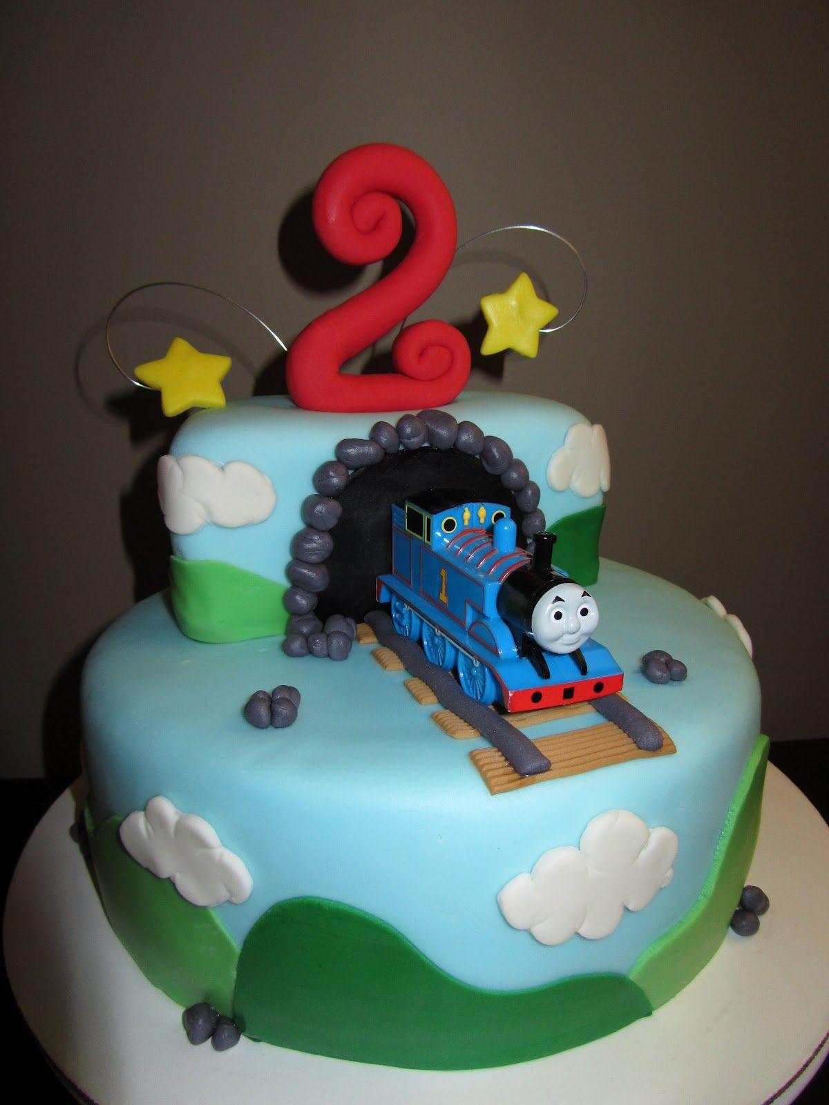 Interactive Thomas The Train Birthday Cakes
