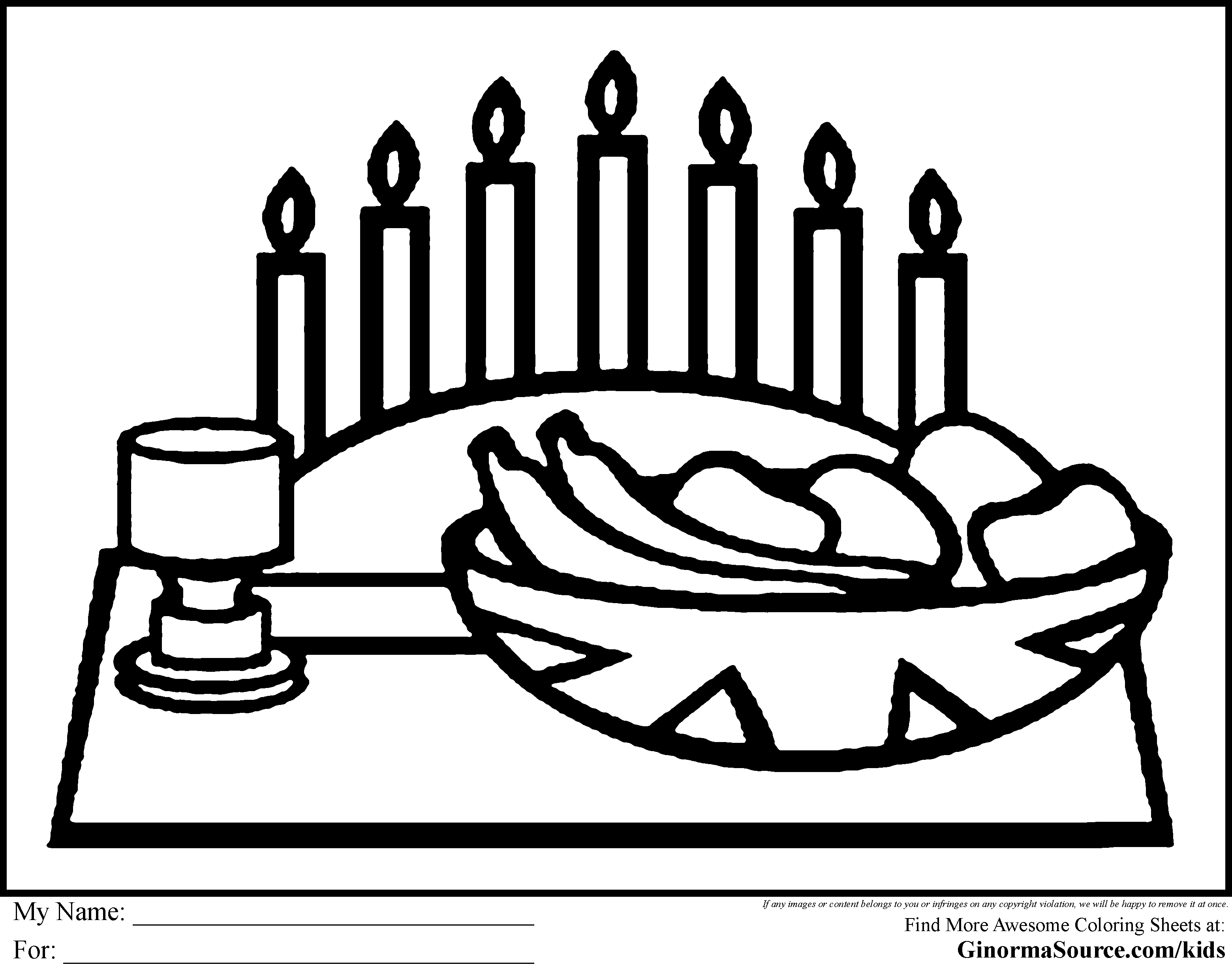 Kwanzaa Coloring Pages For Kids