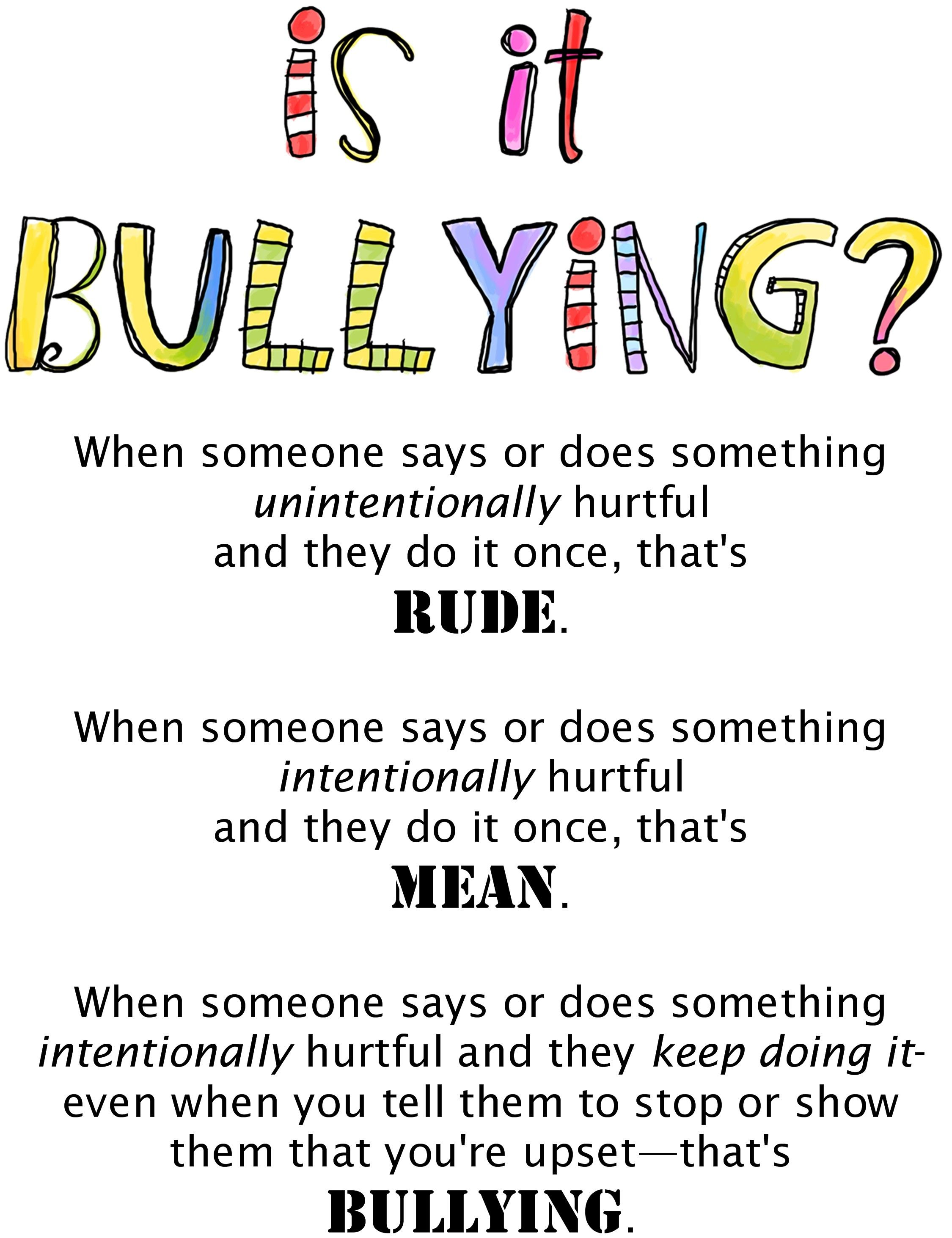 Best 25 Bullying Ideas