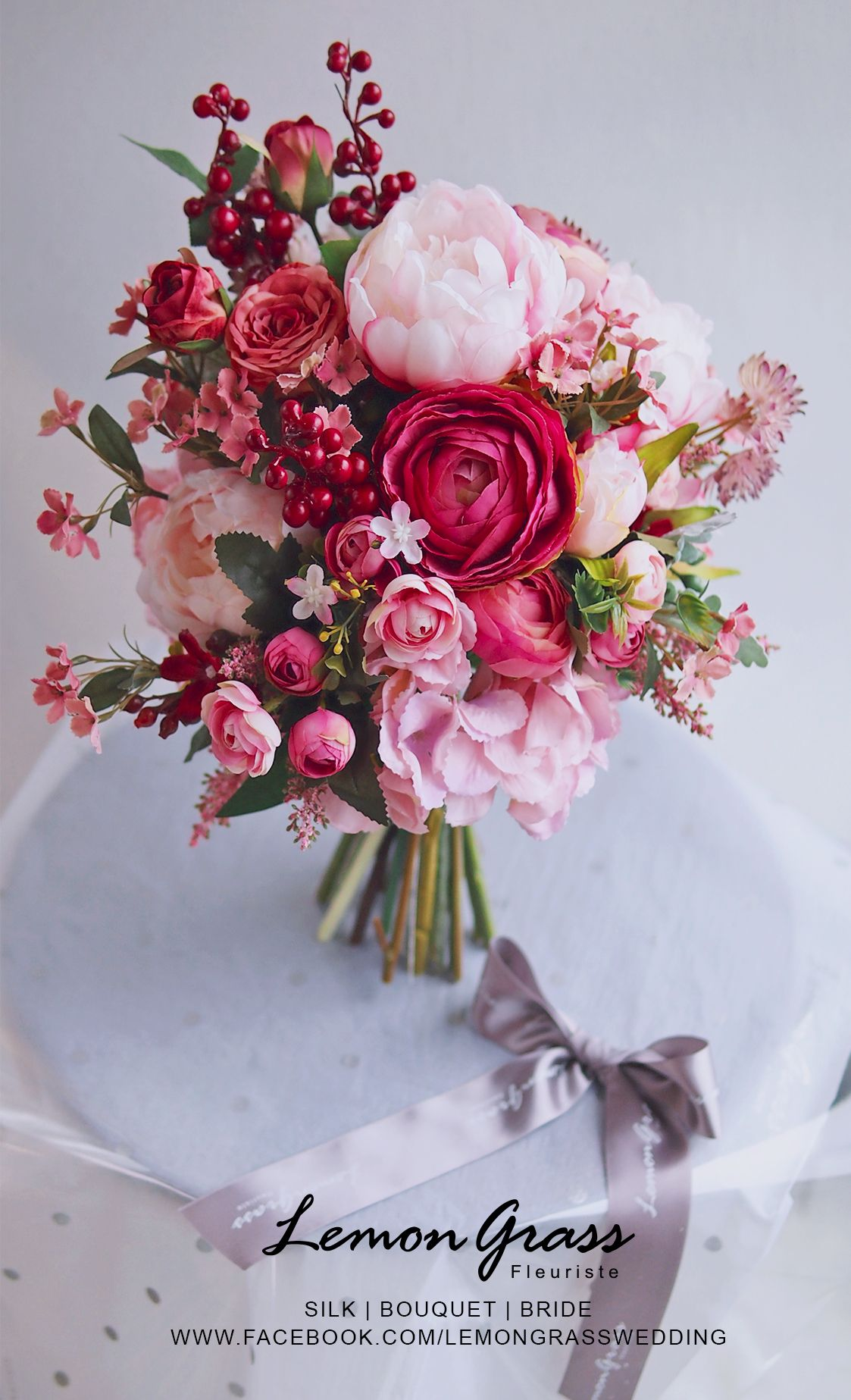 Lillies, roses, peonies oh my! We love this pink inspired