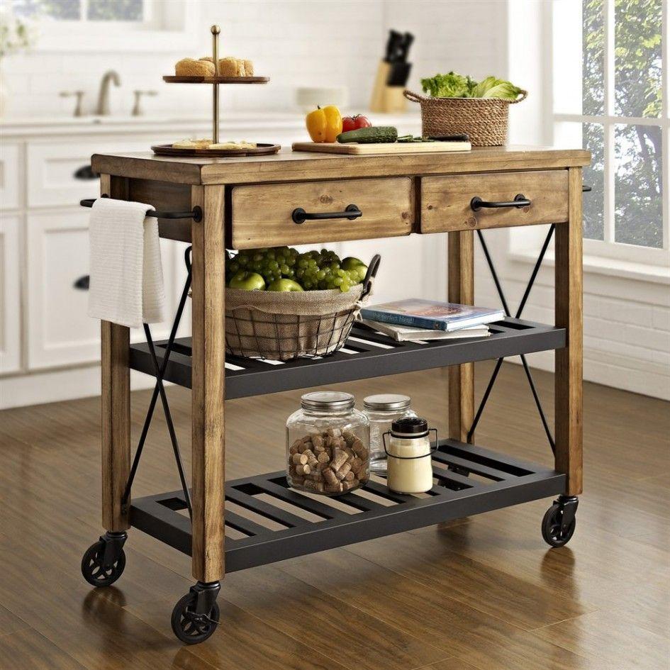 furniture glamorous kitchen roll around island under