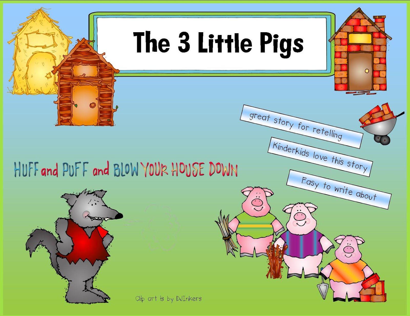 Kindergarten Crayons 3 Little Pigs Unit Ideas