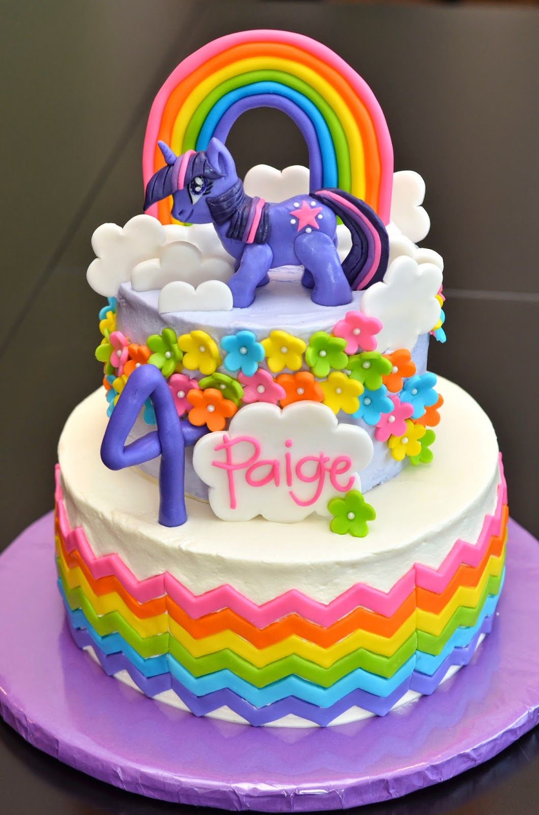 Twilight Sparkle Birthday Cakes