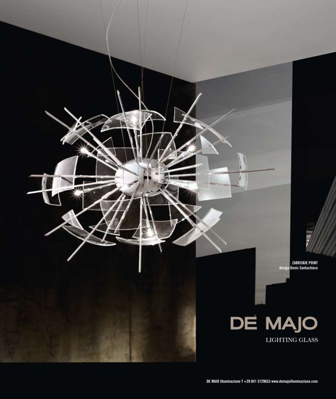 Advertising Campaigns On Murano Chandeliers De Majo