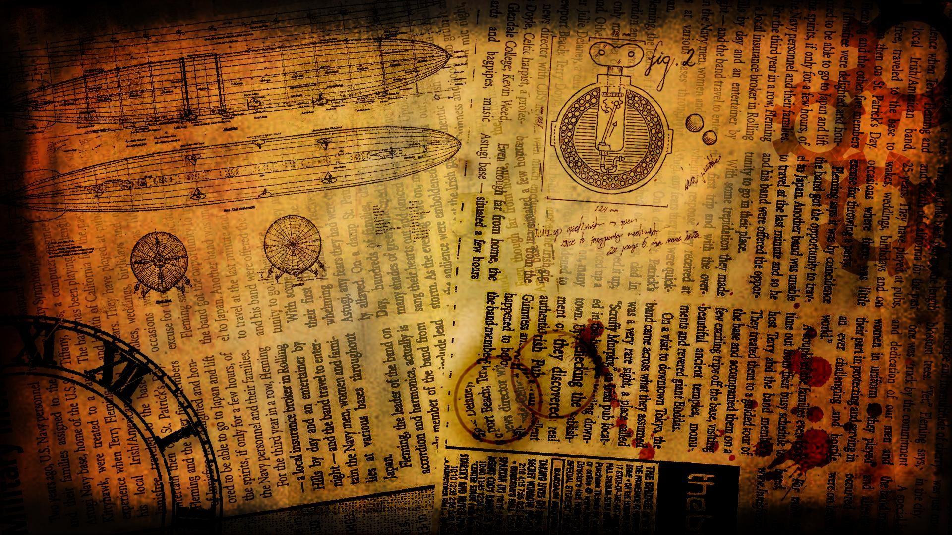DeviantArt More Like Steampunk Wallpaper [1920x1080] by