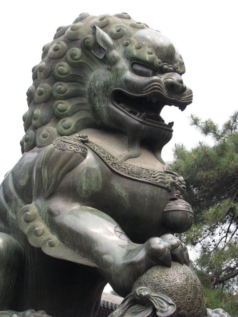 chinese lion Google Search Chinese Mythical Creatures
