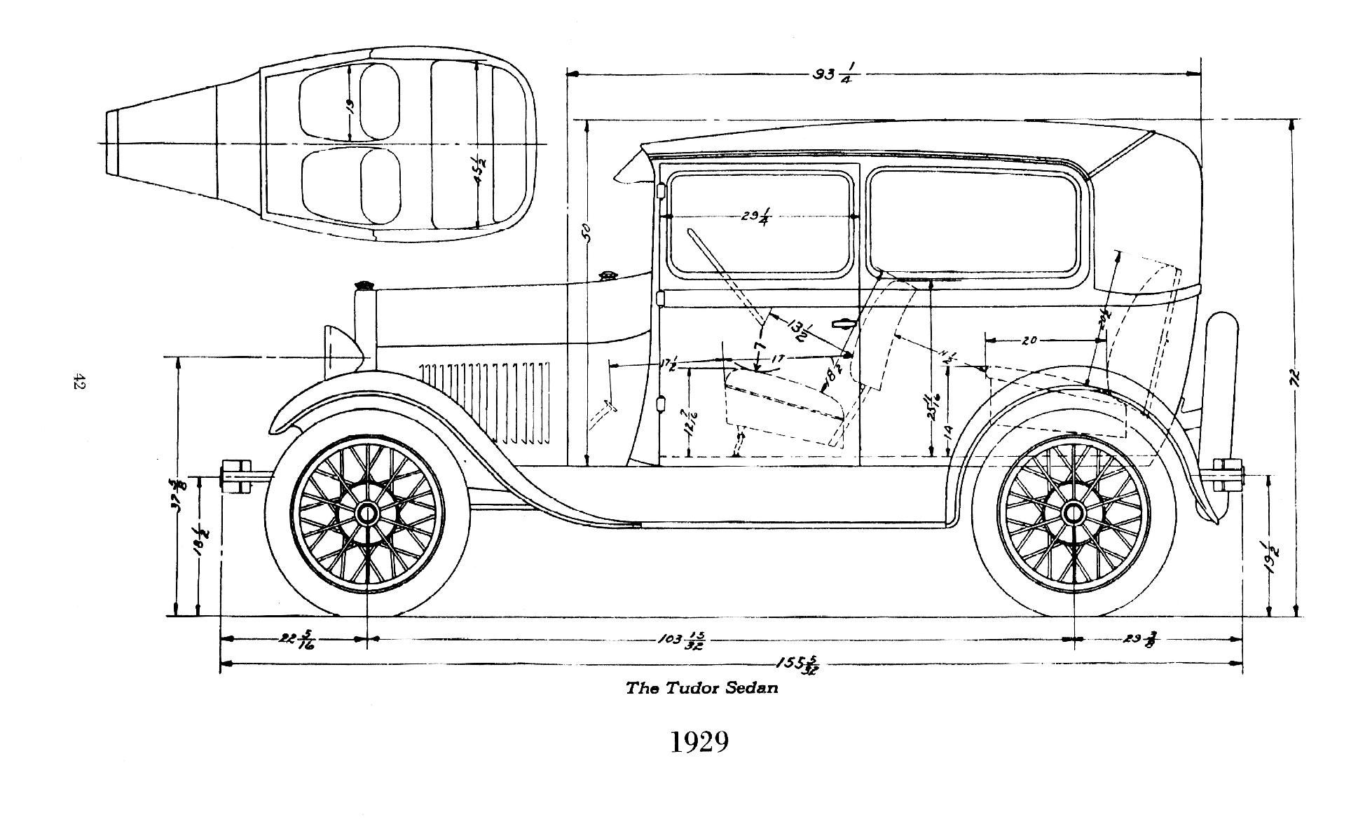 Model A Ford Engine Drawings