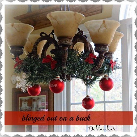 Best 25 Christmas Chandelier Ideas On Pinterest