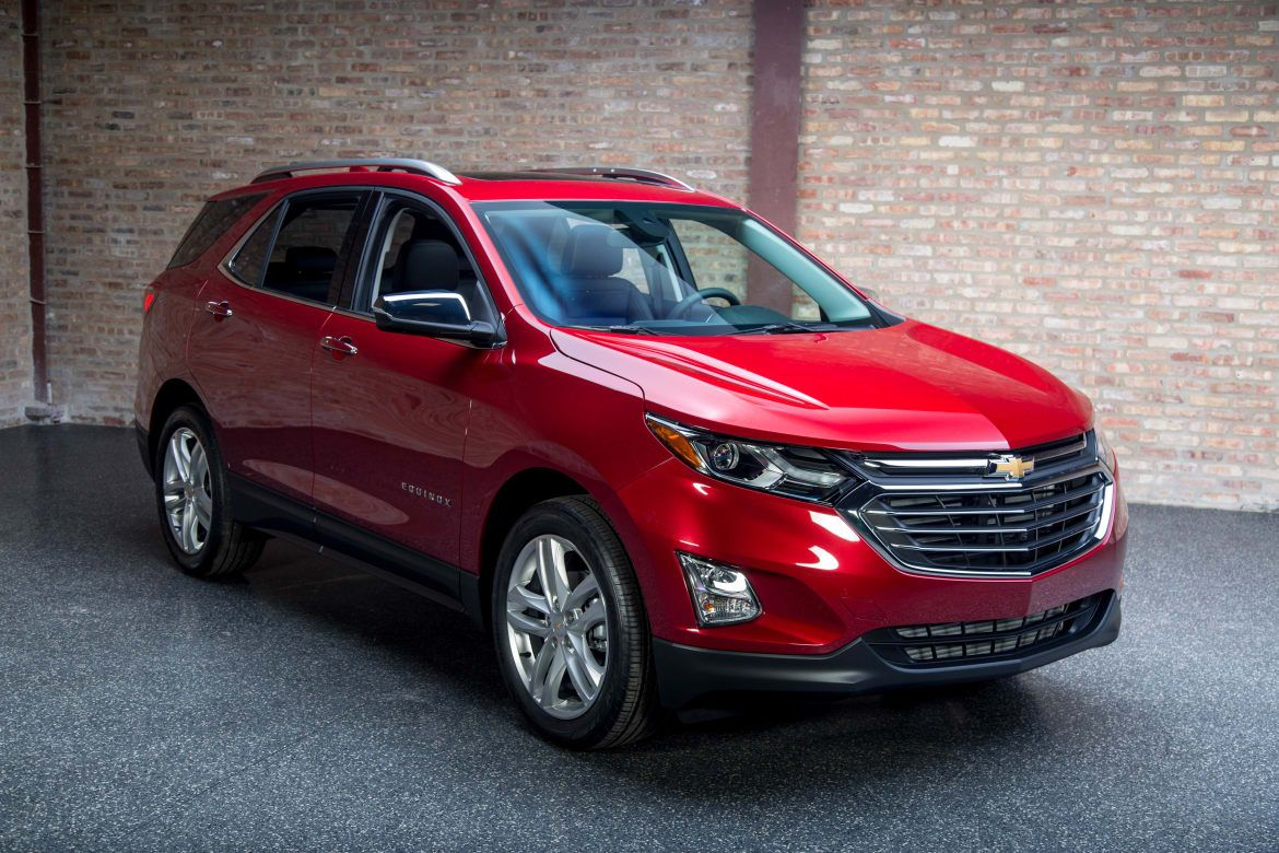 2018 Chevrolet Equinox Premier Confused about what to