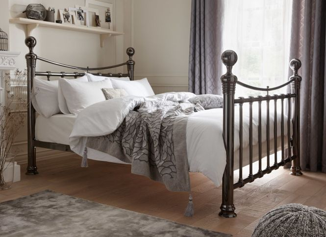 If You Re Looking For A Grand Superior Bed The Nelson Metal Frame