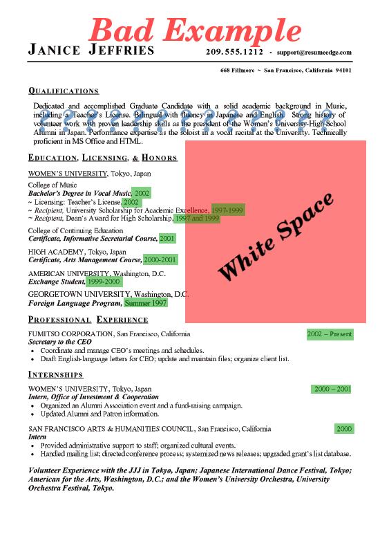 Bad Resume Sample Png 550 215 792 Adobe Student Rep