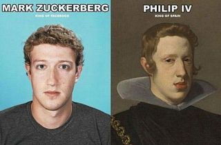 Resultado de imagen de mark zuckerberg illuminati clone