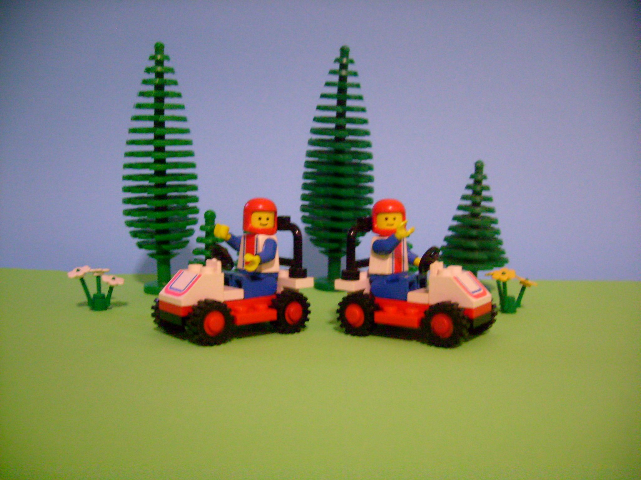 Lego 66091 Race Car (1980) one of two sets where I