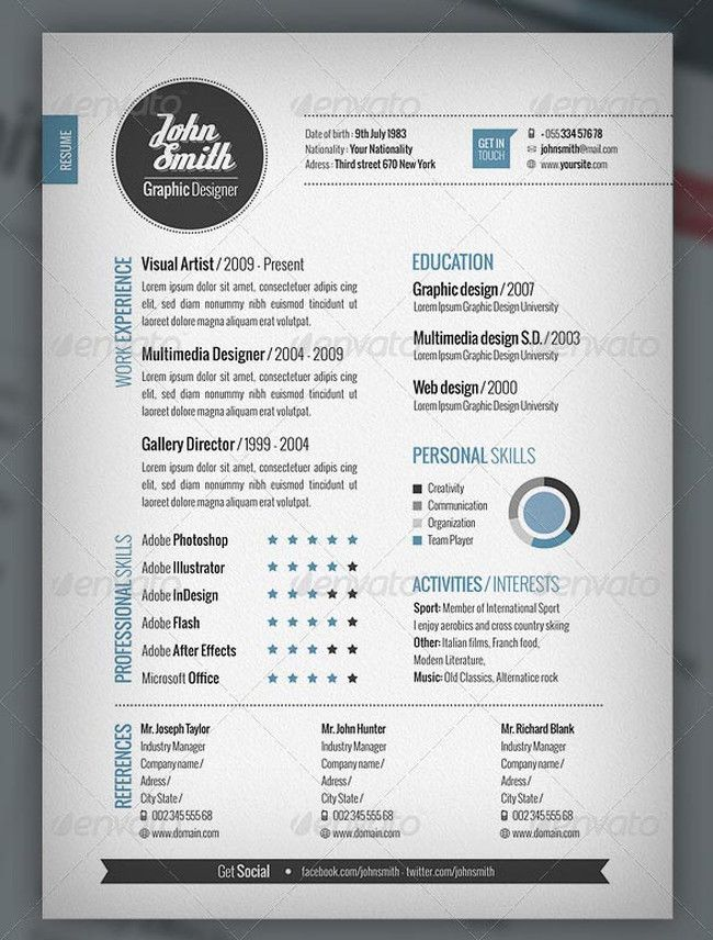cool resume templates word template