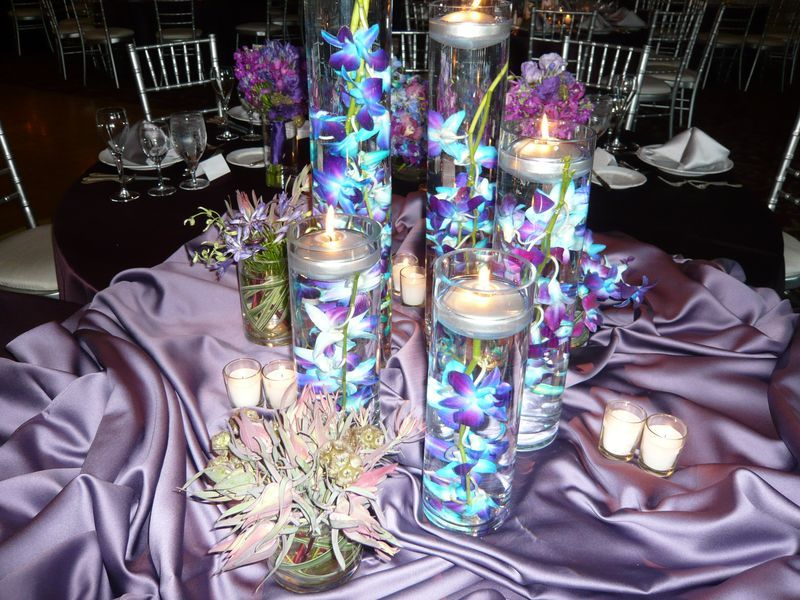 Best 25+ Blue Orchid Centerpieces Ideas On Pinterest