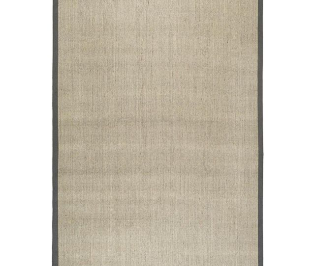 Safavieh Natural Fiber Collection Nfb Hand Woven Marble And Grey Sisal Area Rug  X
