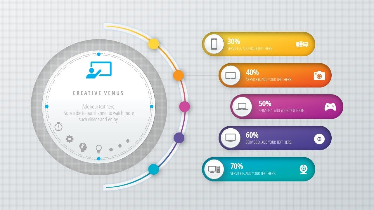 Design Workflow Layout, Annual Report, Business slide in