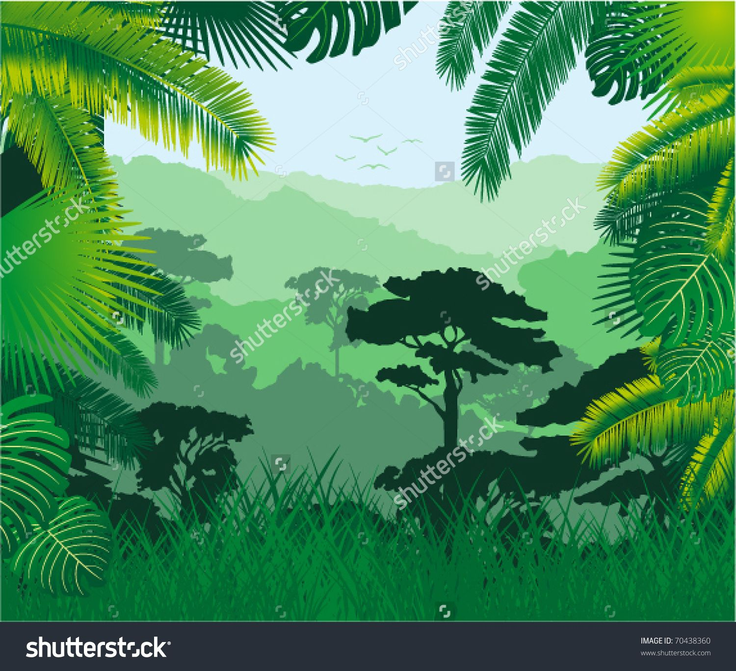 Jungle Background Stock Photos, Images, & Pictures