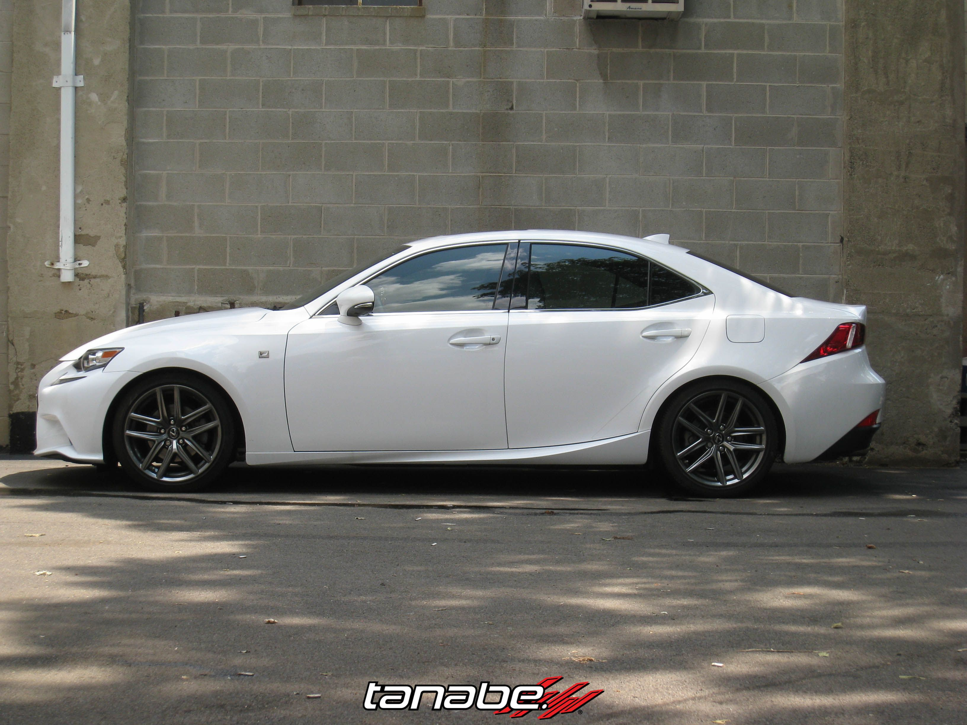 Pictured 2014 Lexus IS250 F Sport AWD on NF210 Springs PART