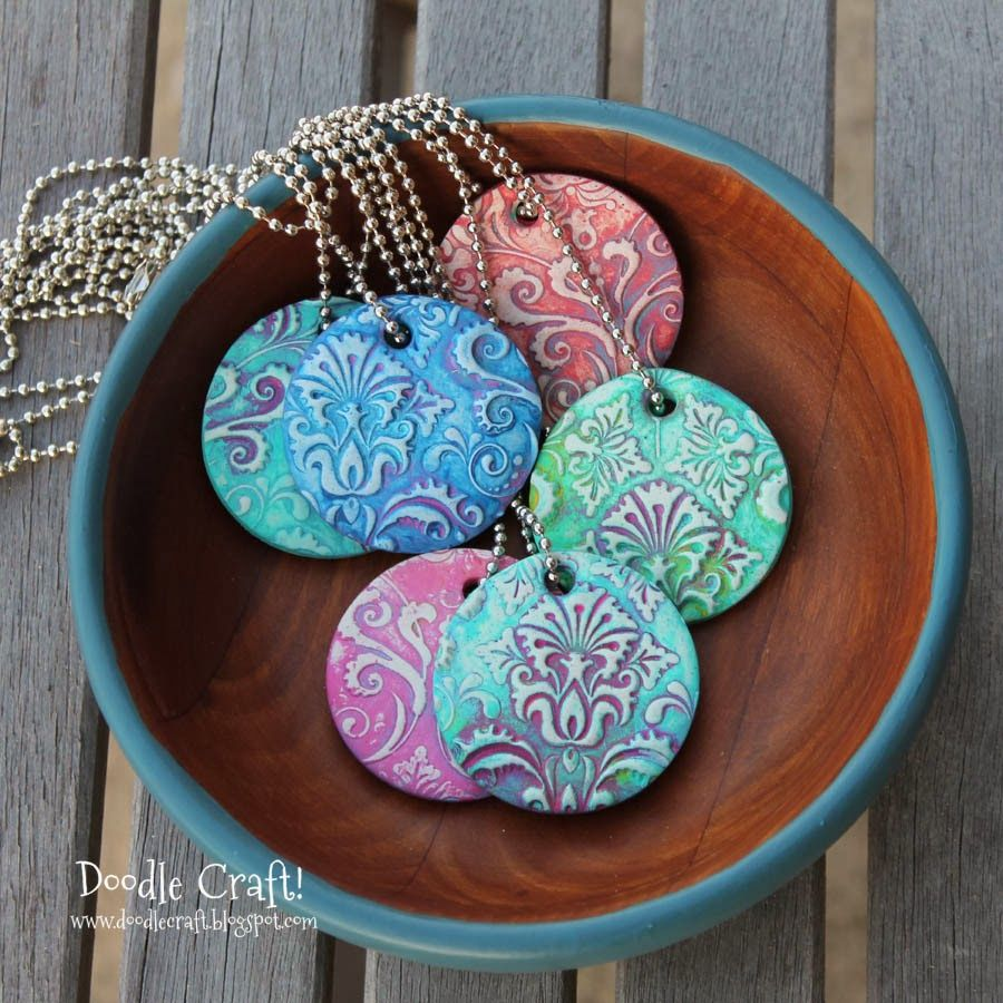 Polymer Clay Pendant On Pinterest Polymer Clay Jewelry