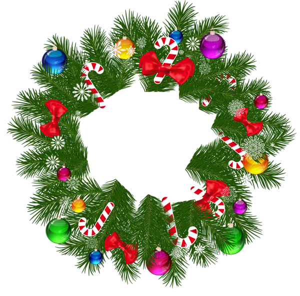 Christmas_Wreath_PNG_Picture.png Decoracion navideña