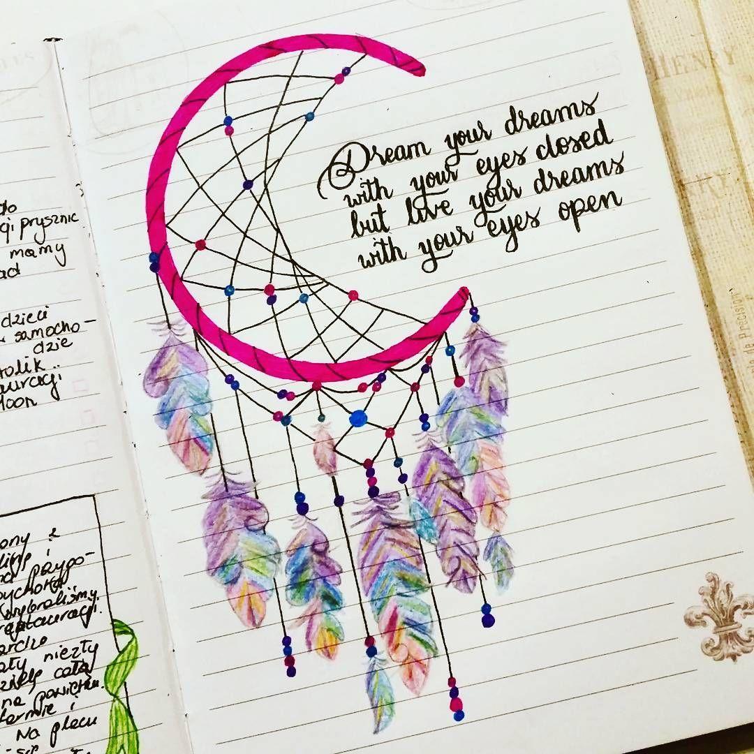 Dreamcatcher Zeichnung Diy Gifts Amp Deko Pinterest