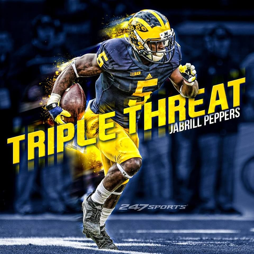 Michigan Wolverines Jabrill Peppers MY University of