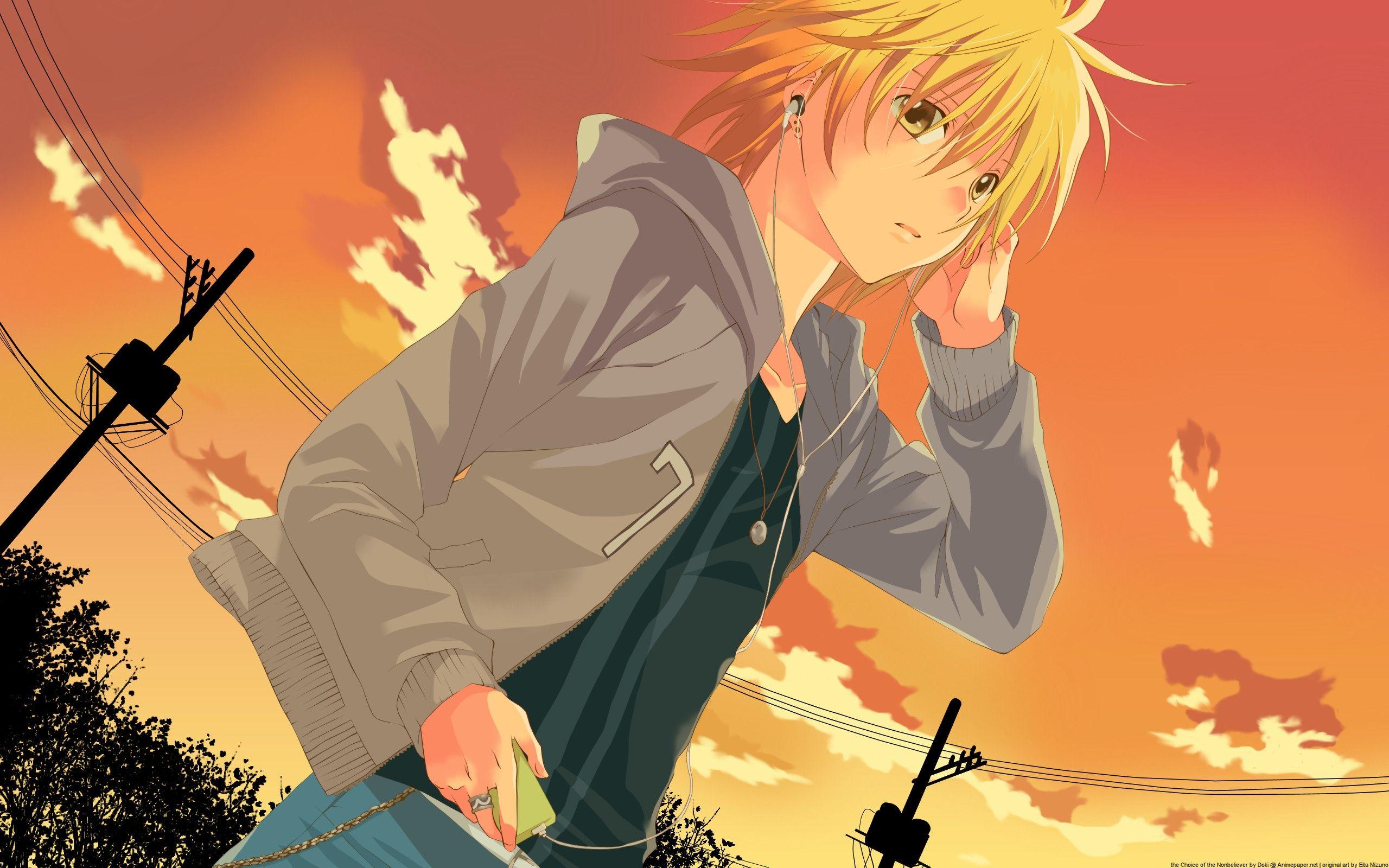 Anime Boy Music Wallpaper Hd 1080P 12 HD Wallpapers