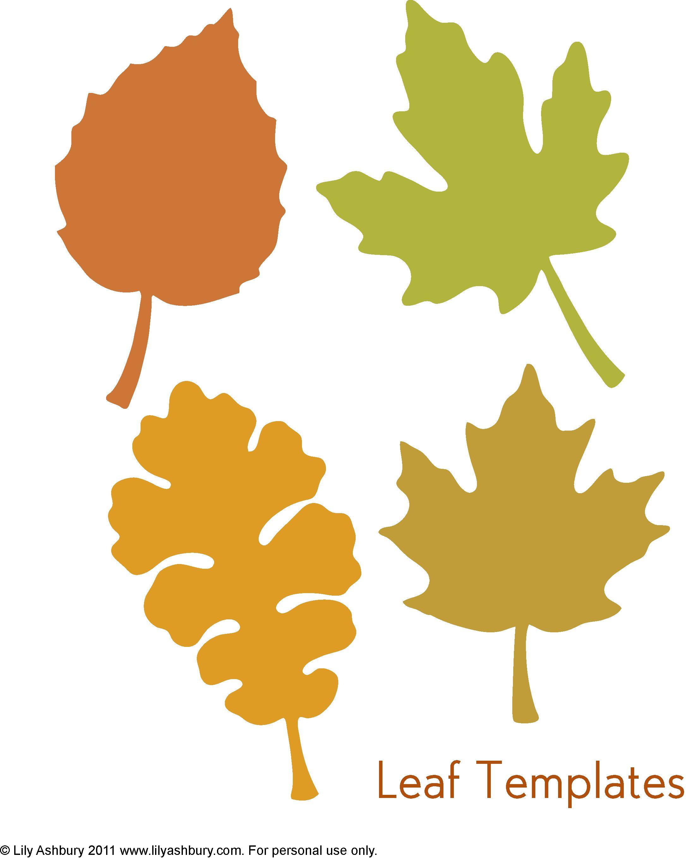 Free Leaf Templates
