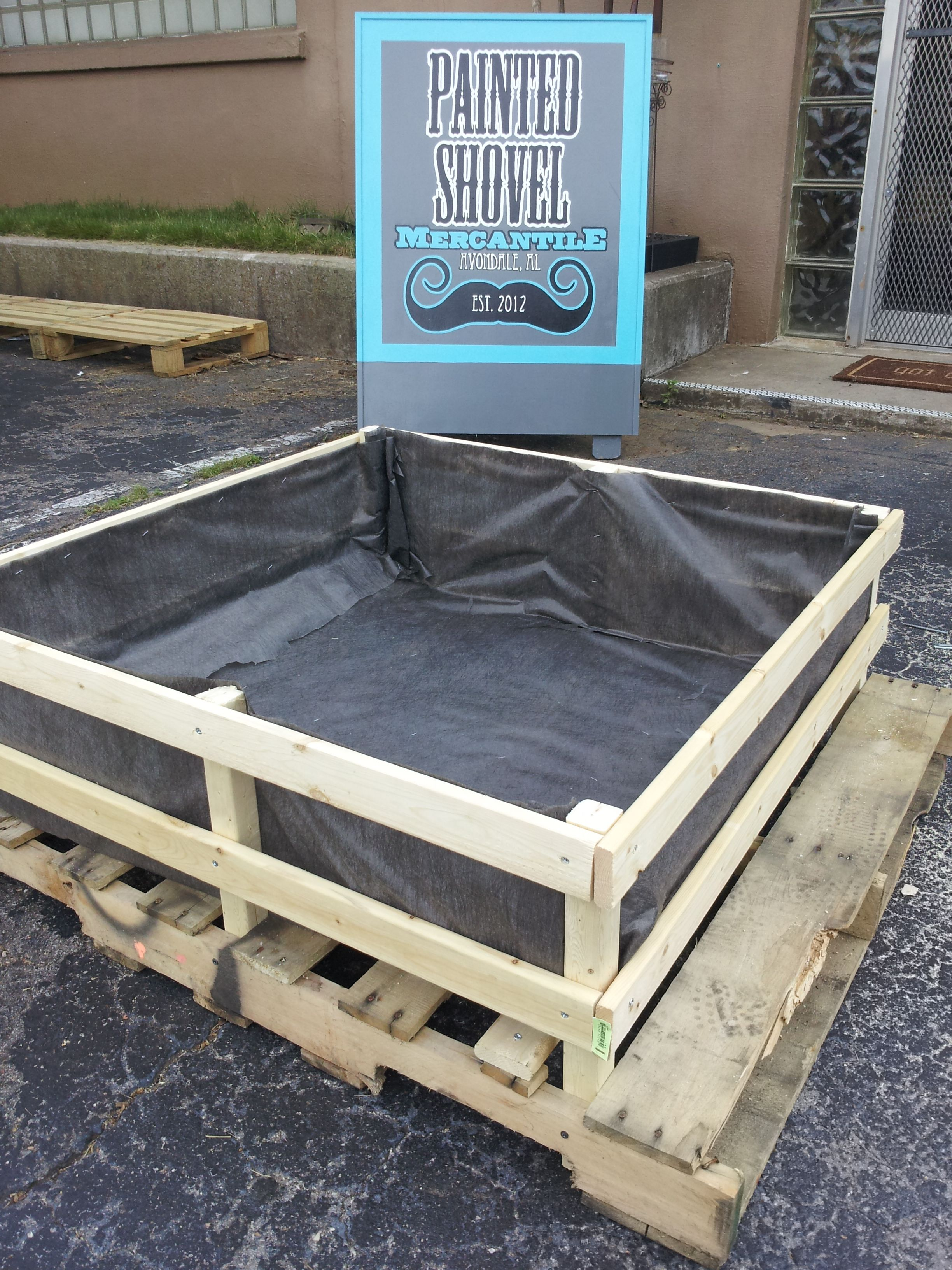 Raised Bed Gardens for sale at Painted Shovel Mercantile