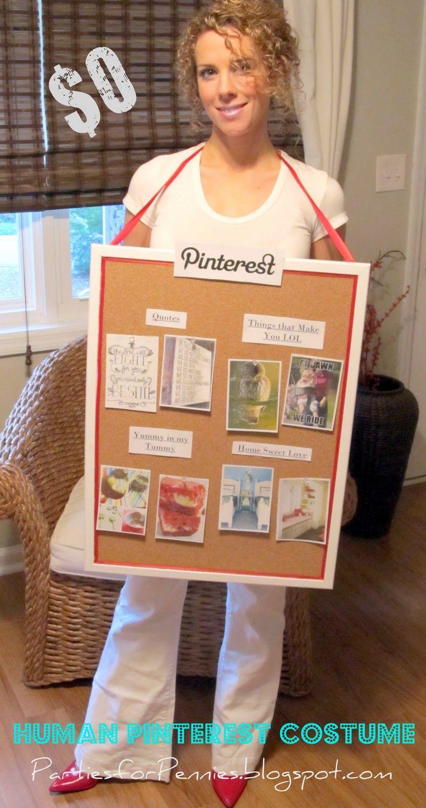 (Jenni) Simple. DIY NoSew Costume Pinterest Halloween
