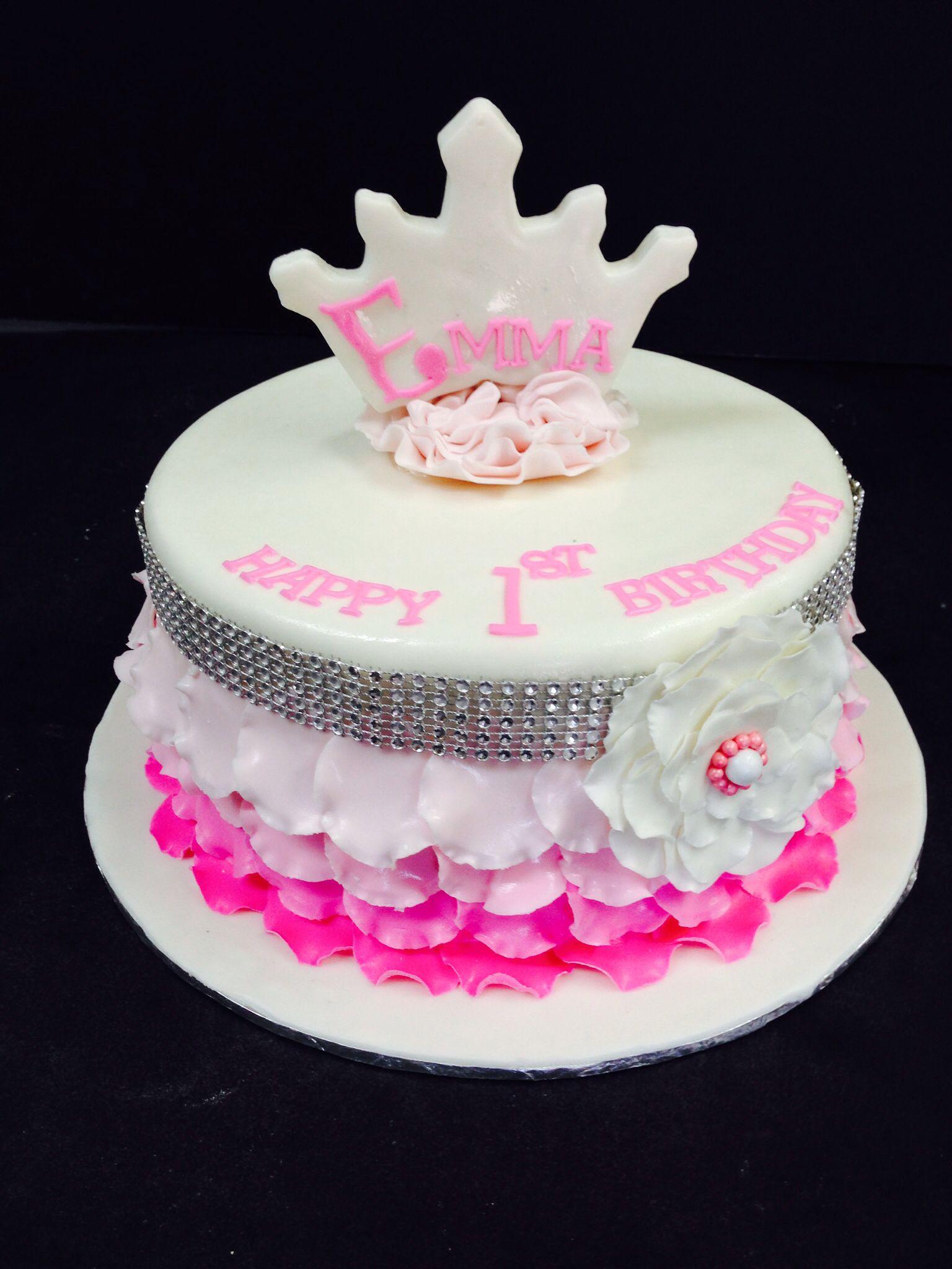 First Birthday Princess Cake