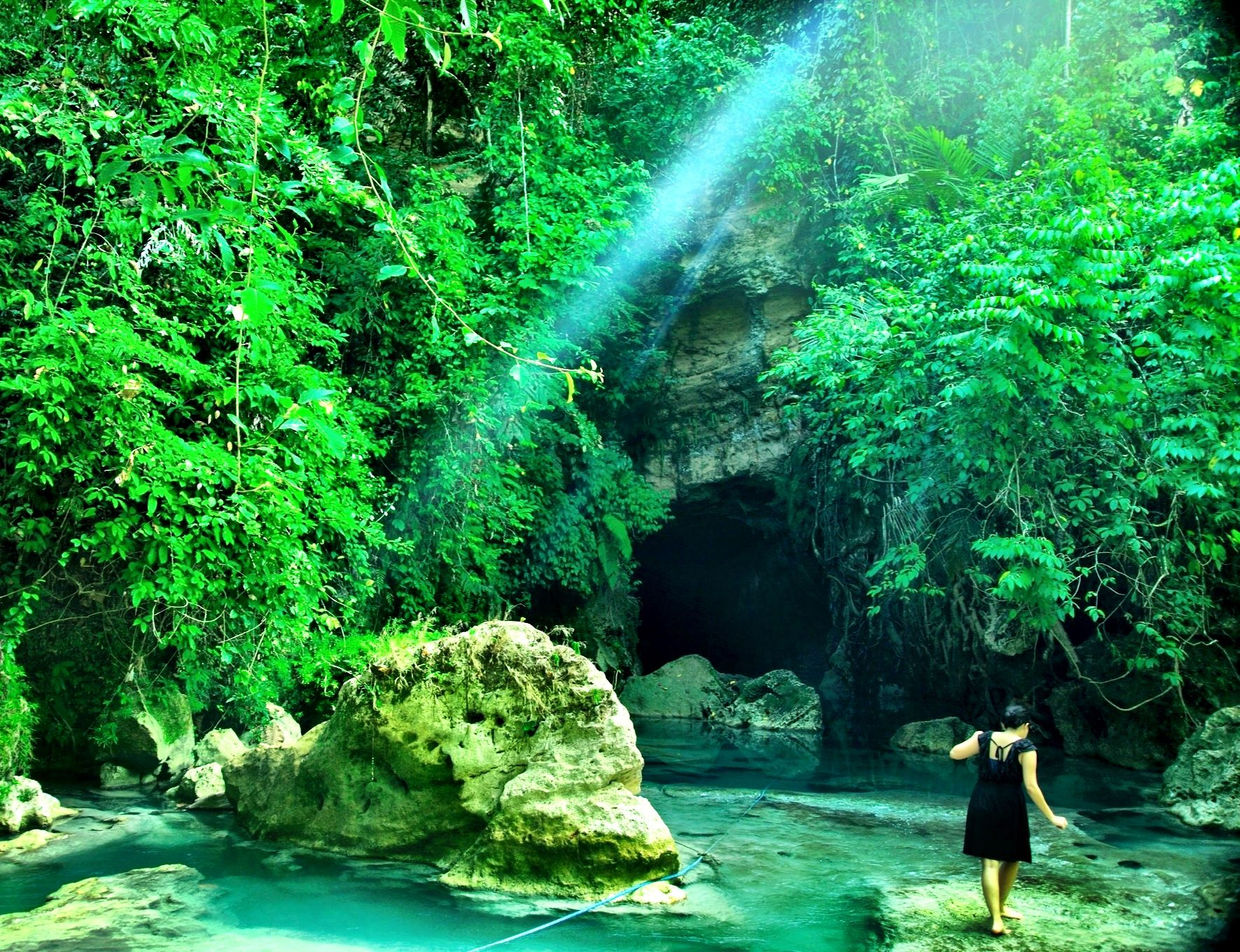 Green valley.. West Java, Indonesia.. I Love Indonesia