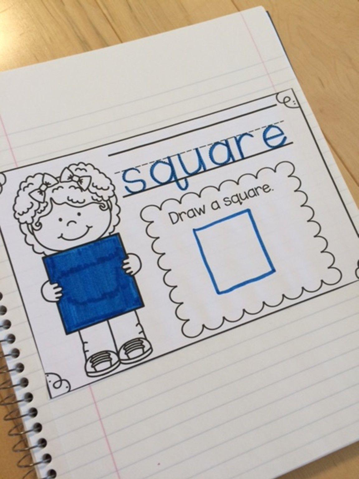 September Preschool Math Journal