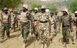 Image result for Boko Haram: Army chief relocates operation headquarter to Born