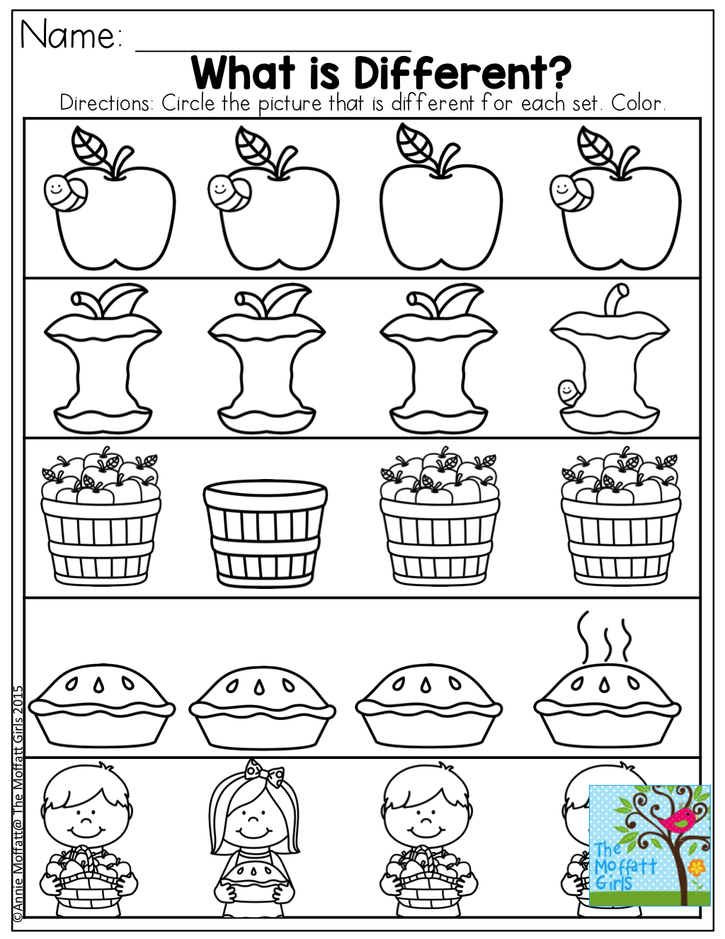Annie Printable Worksheet