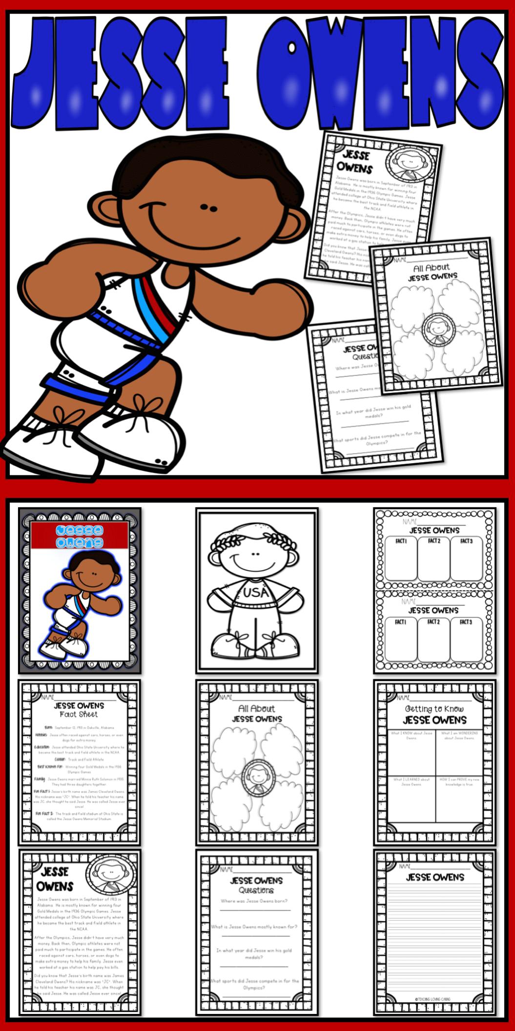 Jesse Owens Activities