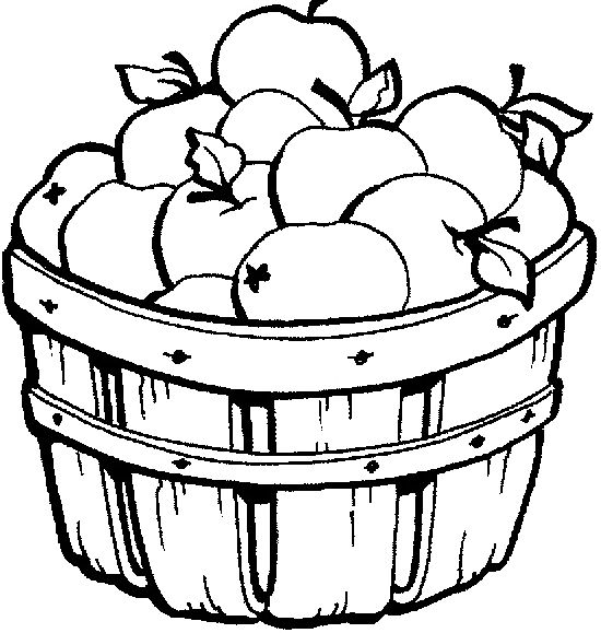 apple baskets coloring pages and coloring on pinterest