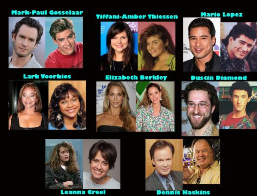 SAVED BY THE BELL CAST THEN AND NOW | Saved by the bell ...