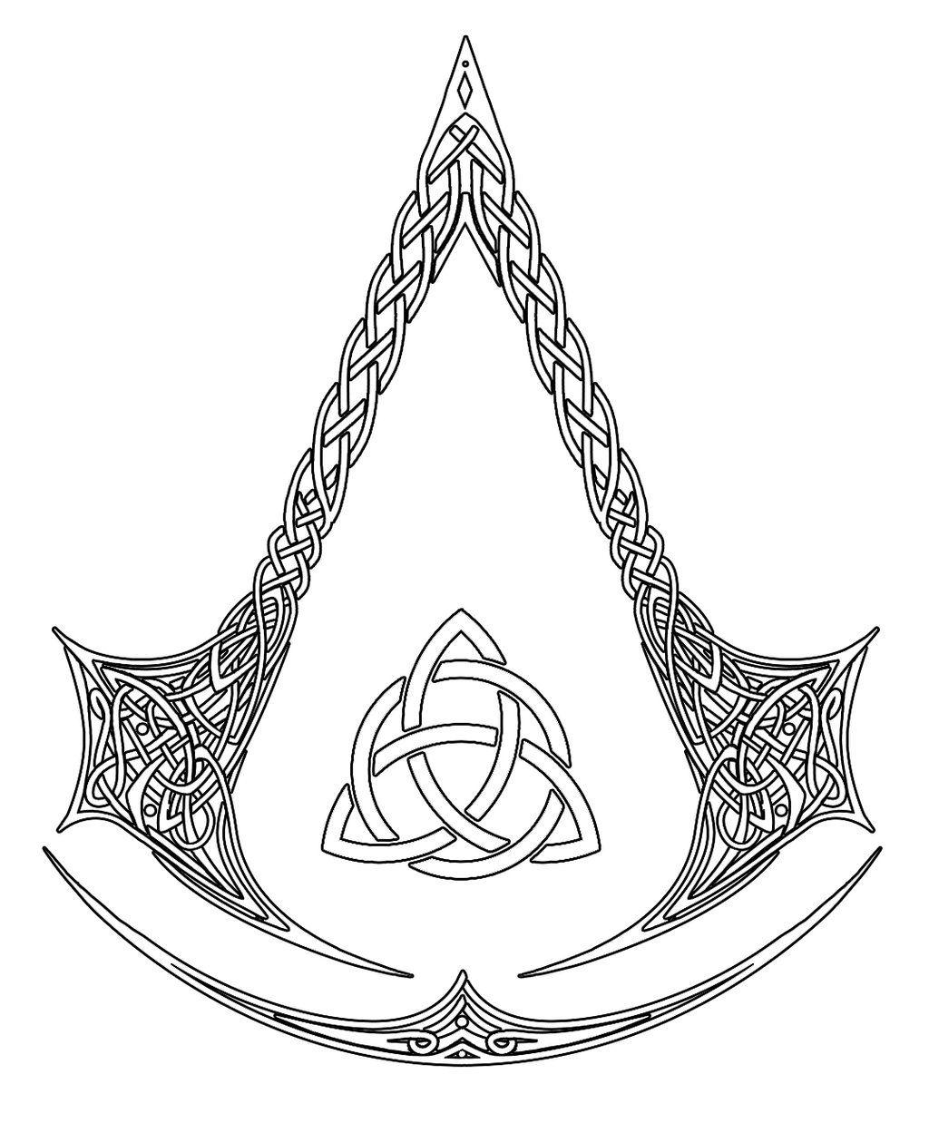 DeviantArt More Like Assassin's Creed Logo Tattoo