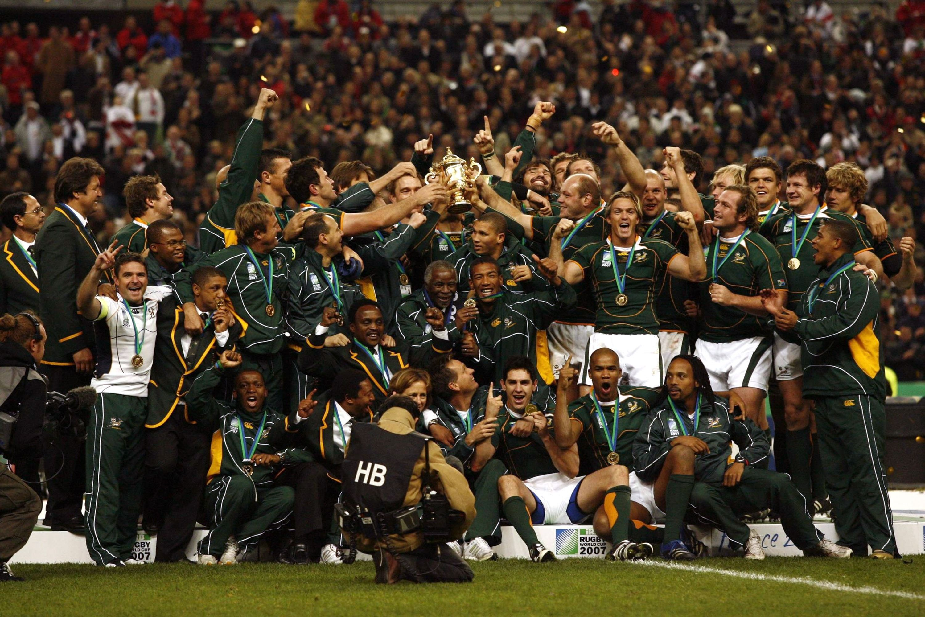 2007 Rugby World Cup Final SOUTH AFRICA ACHIEVEMENTS