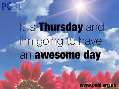 A Thursday quote Motivational Quotes Pinterest