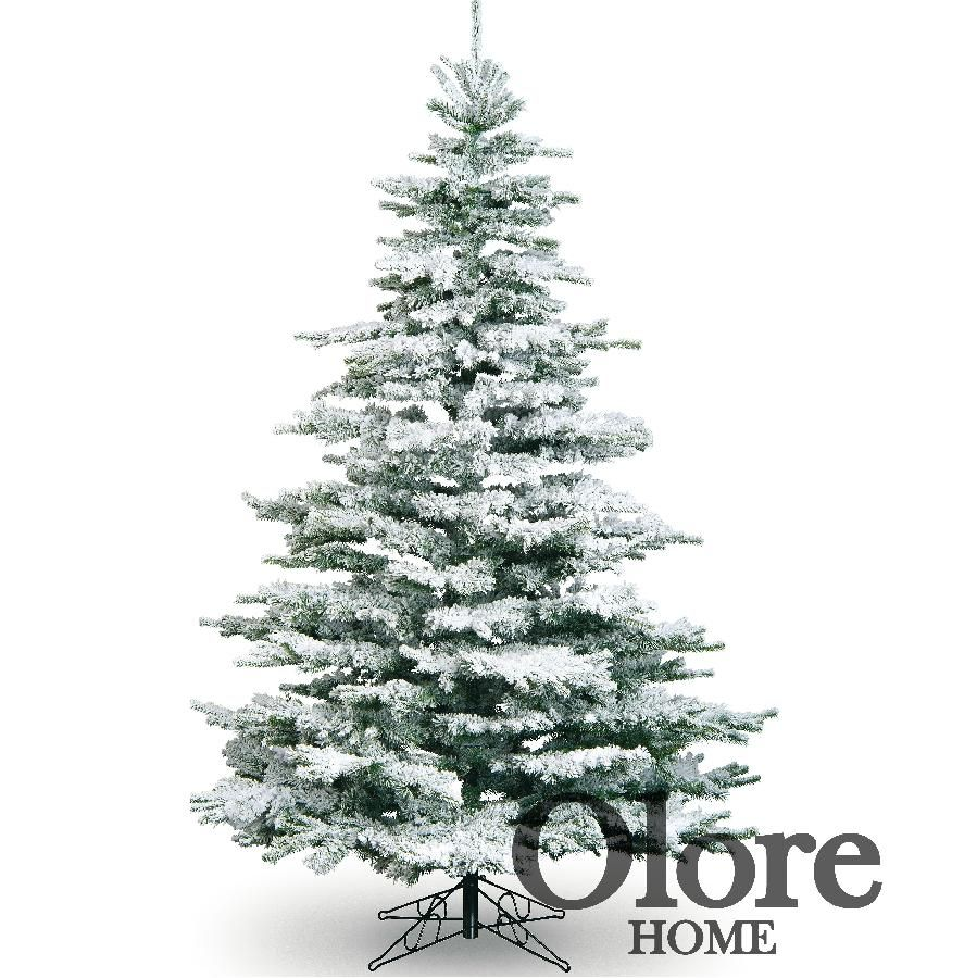 7ft Frosted Christmas Tree Flocked Noble Pine