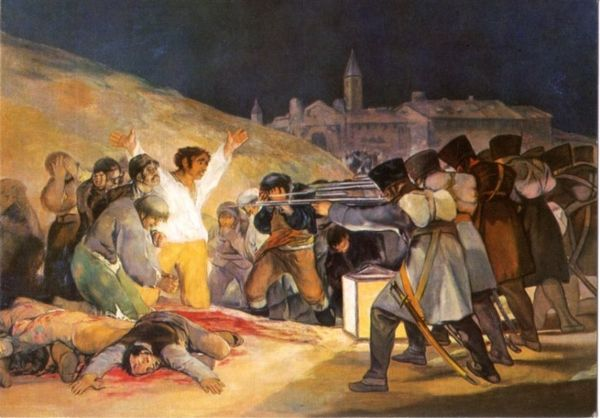 Image result for 2 de mayo painting