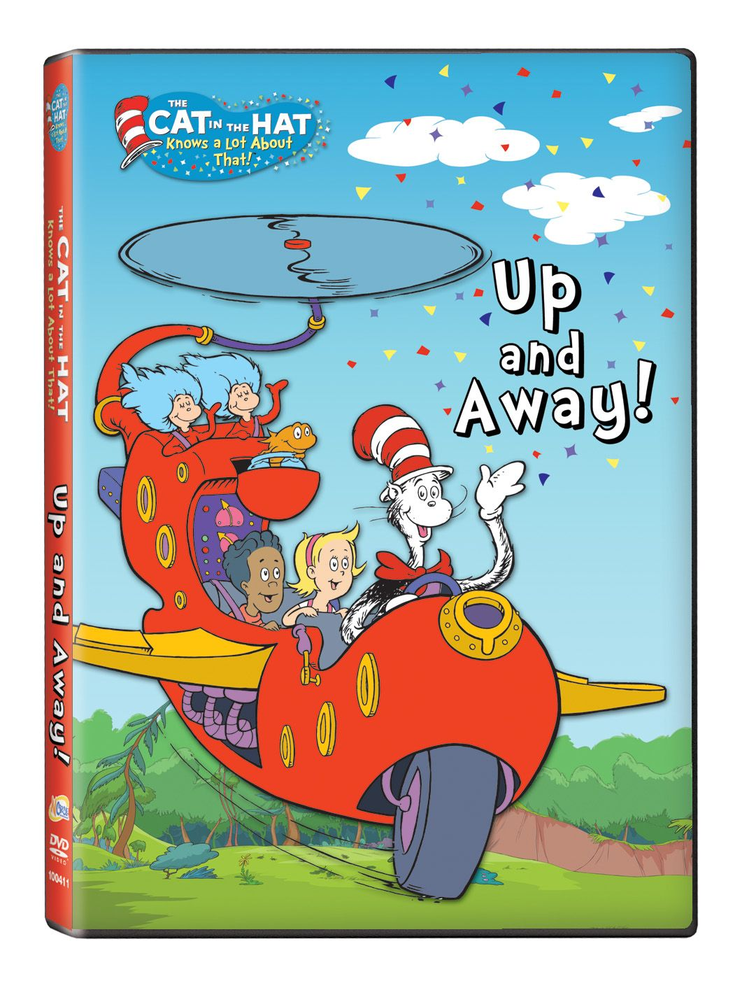 """""""Cat in the Hat Up and Away!"""" is on DVD! http//www"""